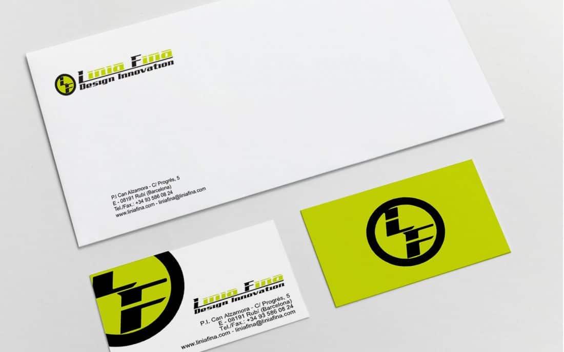 Linea Fina Papelería Corporativa Branding 01