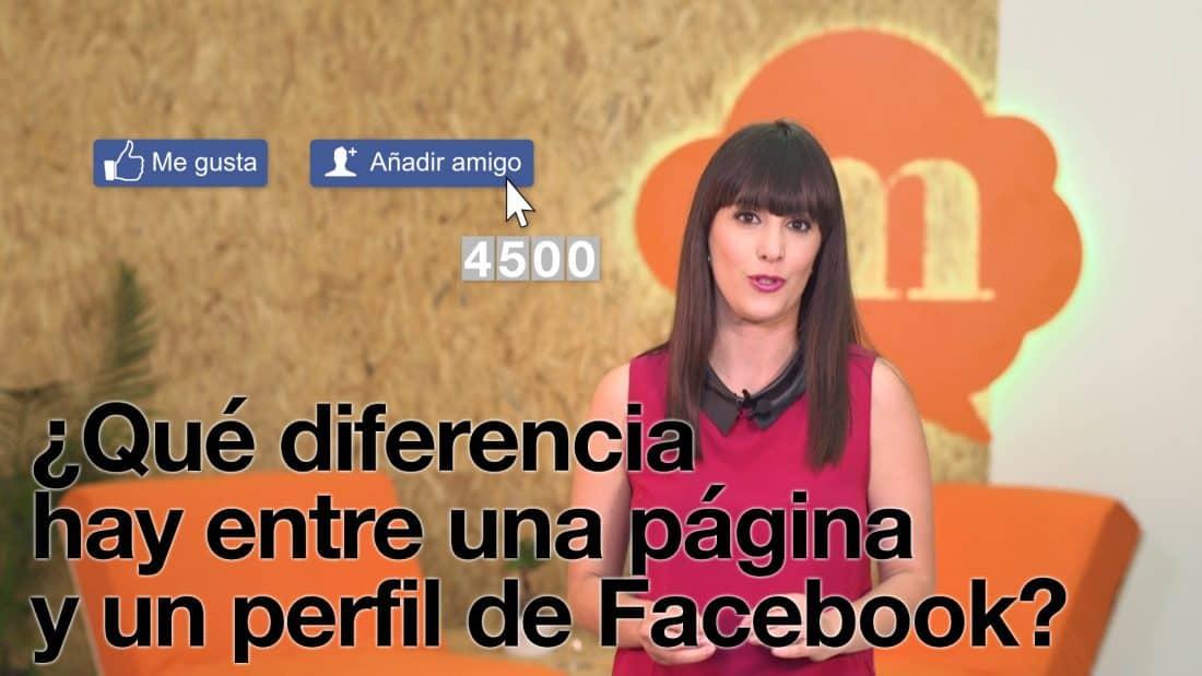1x08 | ¿Qué diferencia hay entre una página y un perfil de facebook?