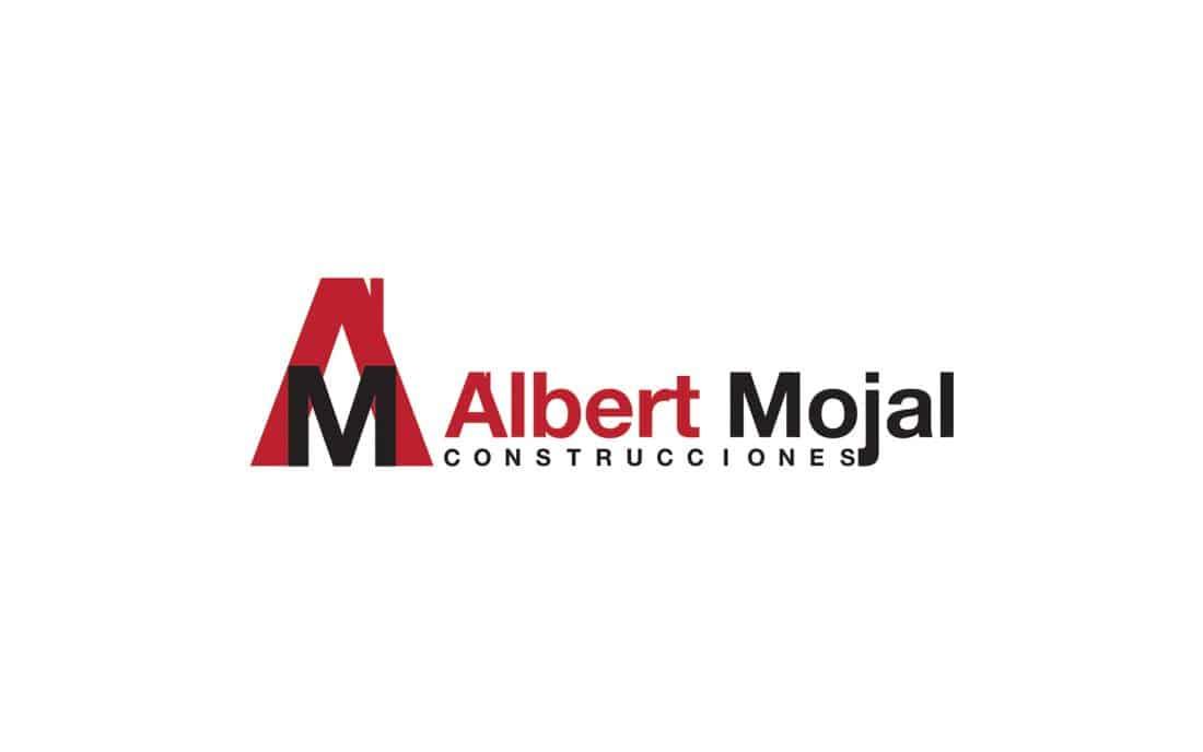 Albert Mojal Construcciones Branding Diseño de Logotipo