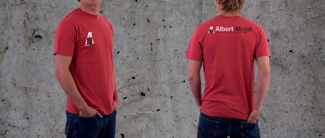 Albert Mojal Construcciones Branding Camisetas de Trabajo