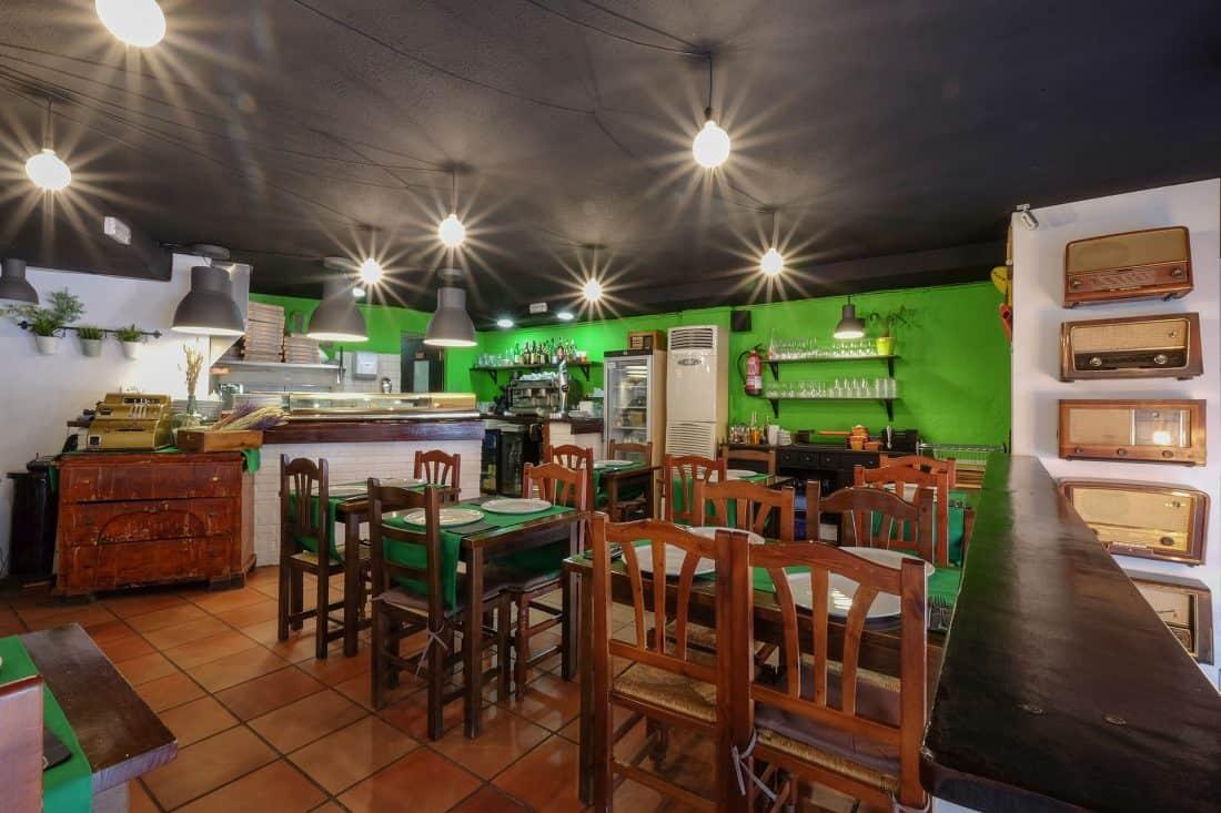 Mezzanotte Reforma Restaurante Diseño de interiores zona de comedor