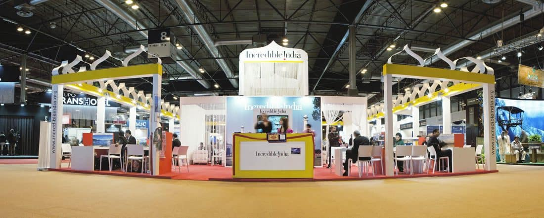 India Tourism Stand Fitur 2013 01