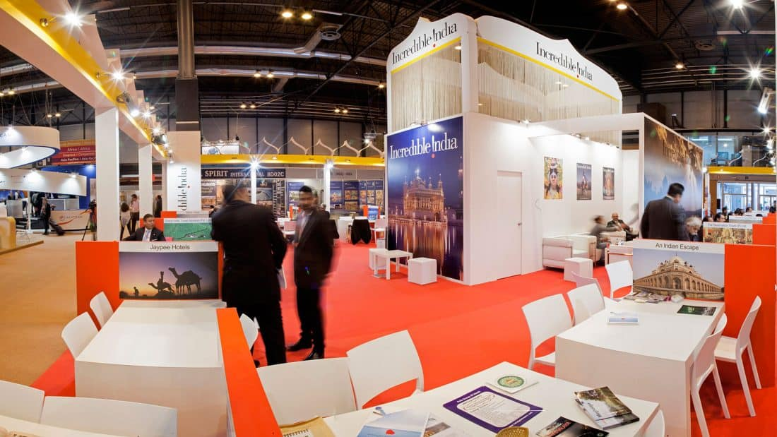 India Tourism Stand Fitur 2013 03