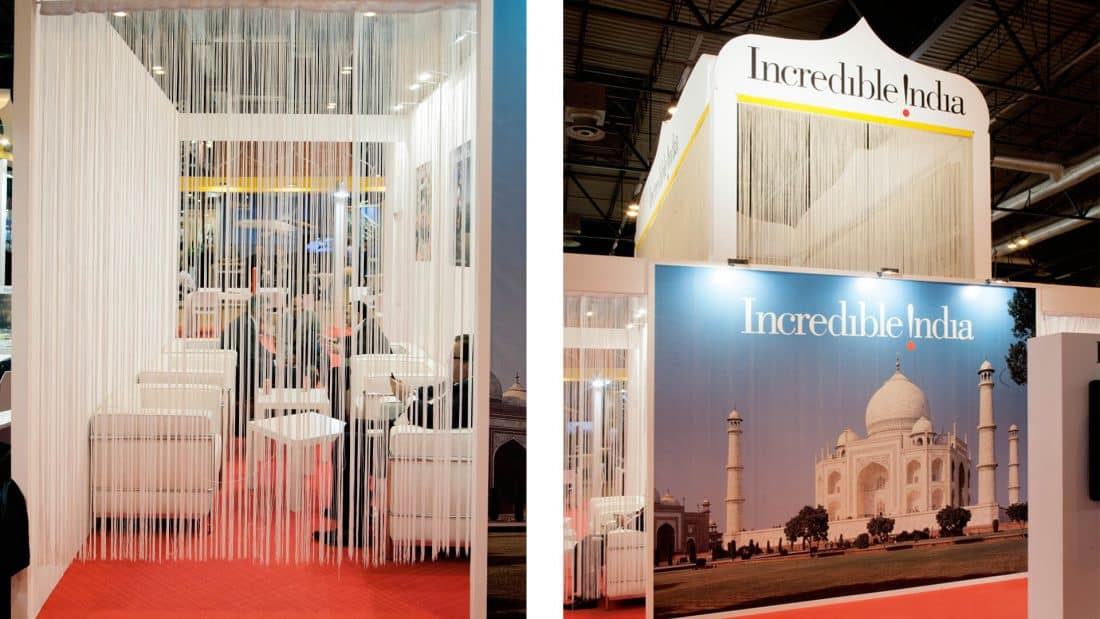 India Tourism Stand Fitur 2013 05