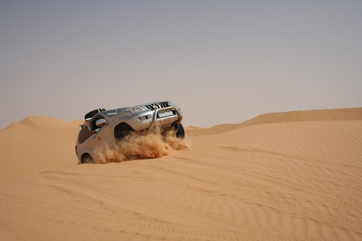 Fotografía Eventos Automóvil ME Toyota Desierto
